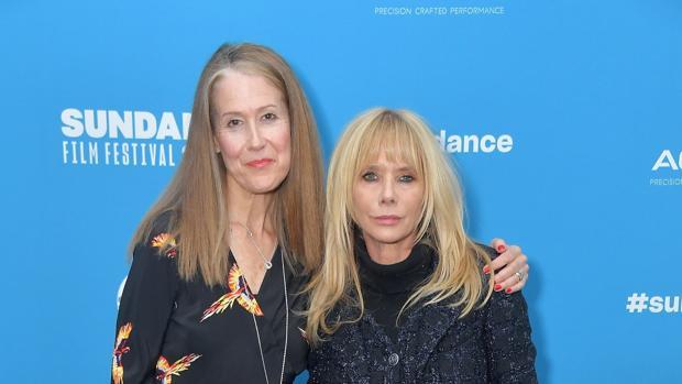 Ursula Macfarlane y Rosanna Arquette, en el Festival de Sundance