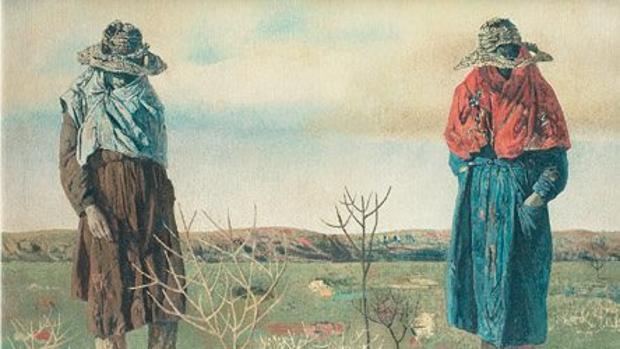 «Mujeres en el campo», composición de José Duarte