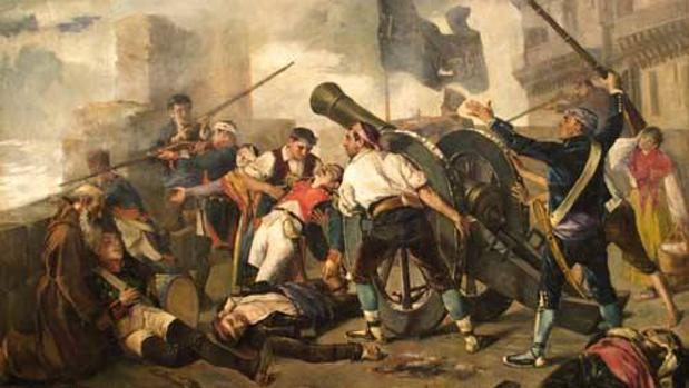 En Zaragoza se libró una de las más encarnizadas batallas