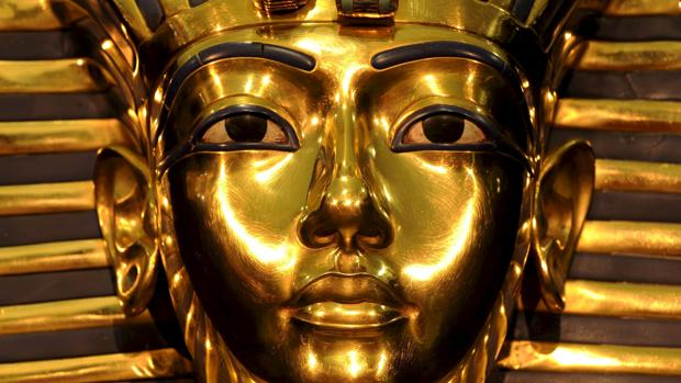 Máscara del faraón Tutankamón