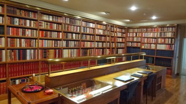 Aspecto de la Biblioteca Carraquiri