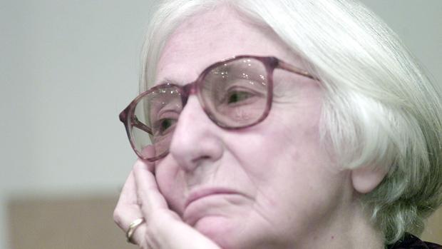 Ana María Martín Gaite, en la presentación del libro de su hermana «Cuadernos de todo»