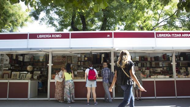 Casetas de la Feria del Libro 2018