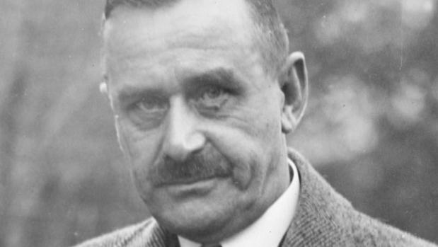 El escritor alemán Thomas Mann