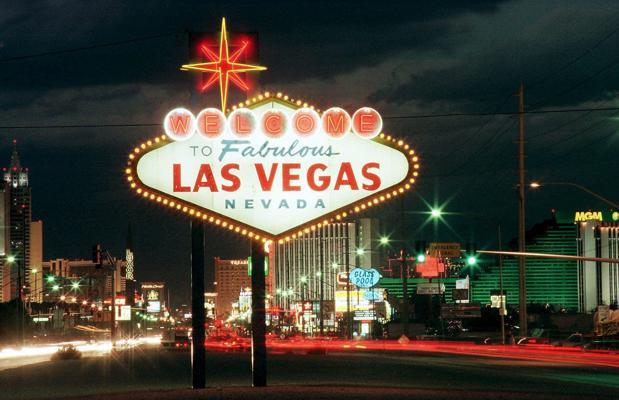 El mítico cartel de Las Vegas