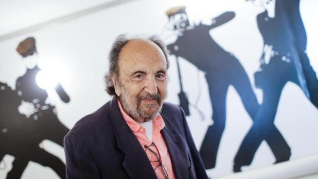 Leopoldo Pomes, durante la presentación de su libro «No era pecado» en Barcelona