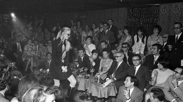 Presentación de una colección #de la diseñadora Mary Quant en la sala Bocaccio de Barcelona en 1967