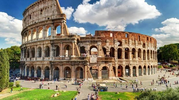 Coliseo romano en Roma