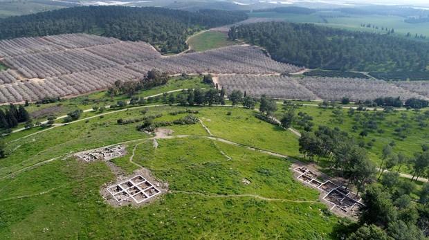 Excavación arqueológica de Khirbet a Rai