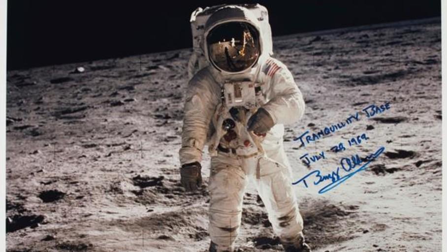 A subasta objetos del Apolo 11, la primera misión que consiguió llegar a la Luna hace 50 años