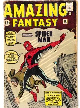 Portada de «Amazing Fantasy #15»