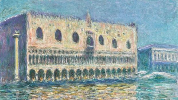 «Le Palais Ducal», de Monet