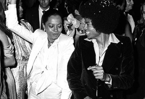 Michael, bailando en Studio 54 en 1979