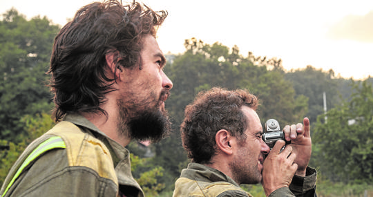 Oliver Laxe (izquierda) y Mauro Herce