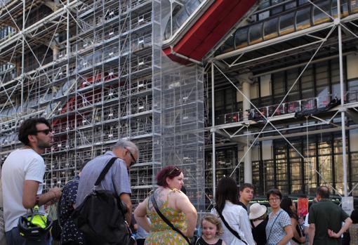 Fachada del Centro Pompidou