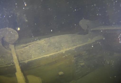 Detalle del interior del barco HMS Terror