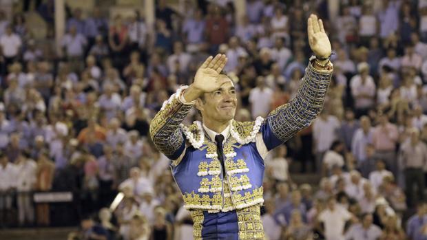 El Cid, en su despedida de Sevilla