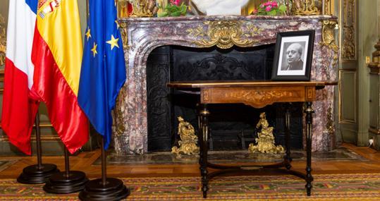 La mesa, tras su presentación en París, el pasado septiembre