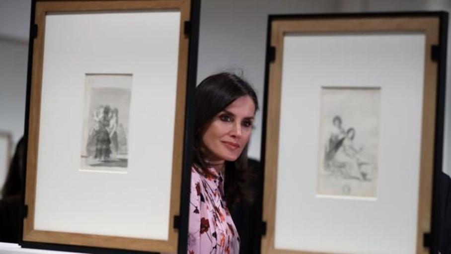 Doña Letizia: «El Prado es la gran institución cultural de este país»