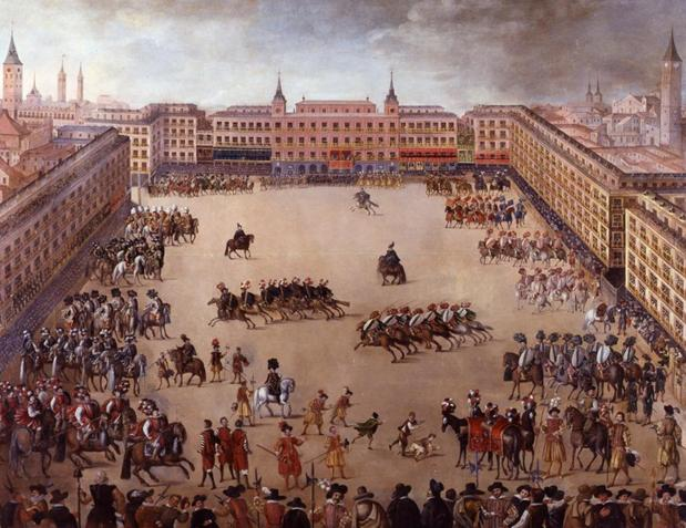Fiesta Real en la Plaza Mayor de Madrid (1623)