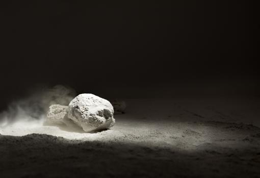 Detalle del proyecto de Ignacio Llamas (galería Pilar Serra) para Pinta