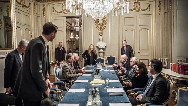 La sala de deliberaciones del Nobel de Literatura