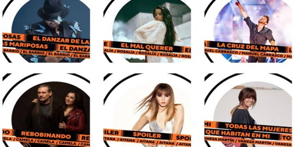 Premios Odeón, los Goya de la música: ¿Cuál es tu artista favorito?