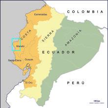 Área de actuación en Ecuador