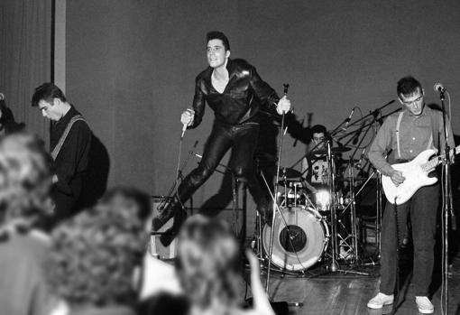 Loquillo y Los Trogloditas en 1983
