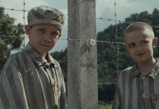 Fotograma de «El niño con el pijama de rayas», basada en la exitosa novela de Boyne