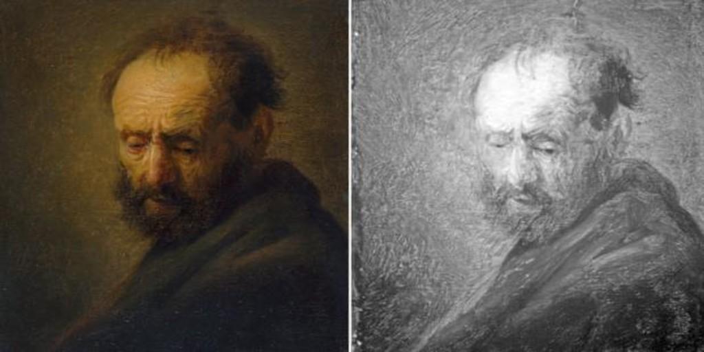 Atribuyen a Rembrandt o su taller un cuadro arrumbado en los almacenes de  un museo de Oxford