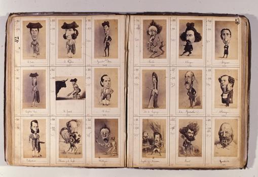 Jean Laurent, Álbum muestrario. Museo de Historia de Madrid
