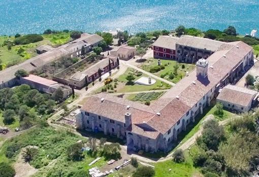 El hospital de la Isla del Rey, en el Puerto de Mahón