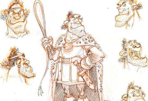 Varios bocetos de Sabiondus