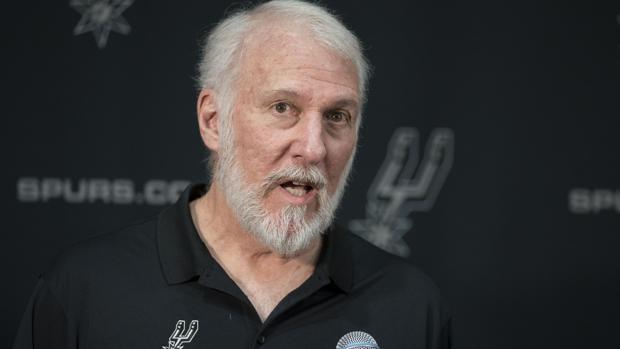 Popovich, técnico de los Spurs