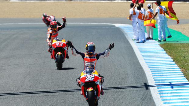 En el circuito de Jerez