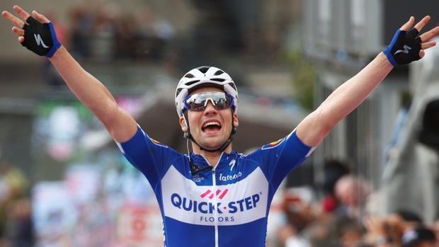 Max Schachmann celebra su triunfo
