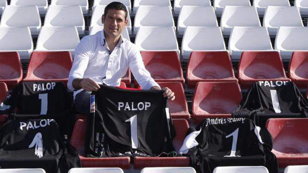 Andrés Palop, en el Sánchez Pizjuán de Sevilla