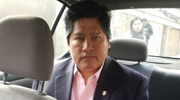 El presidente de la Federación Peruana de Fútbol, Edwin Oviedo