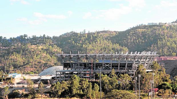 El Parque Hugo Chávez, un centro polideportivo con las obras estancadas, evidencia el colapso deportivo en Venezuela