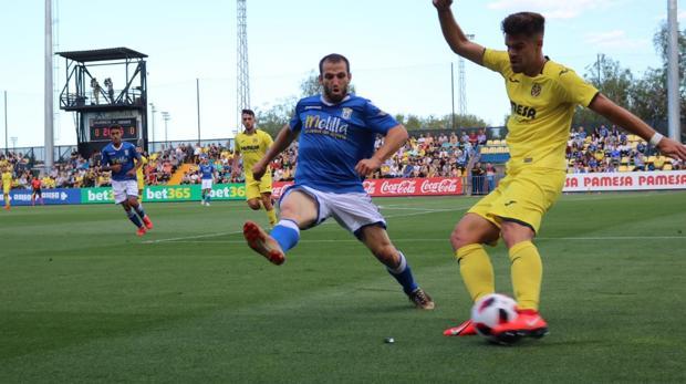 Eliminatoria entre el Melilla y el filial del Villarreal