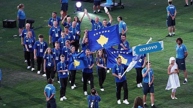 Atletas de Kosovo en los Juegos del Mediterráneo