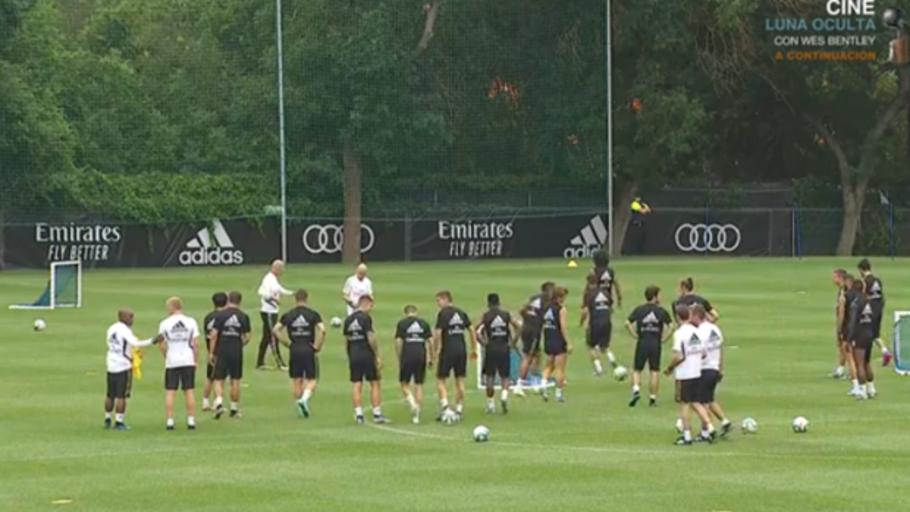 Zidane vuelve a dirigir al Real Madrid