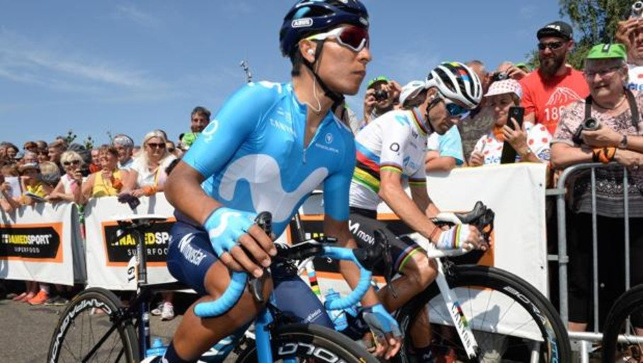 El dardo de Valverde a Quintana después de su decepcionante etapa