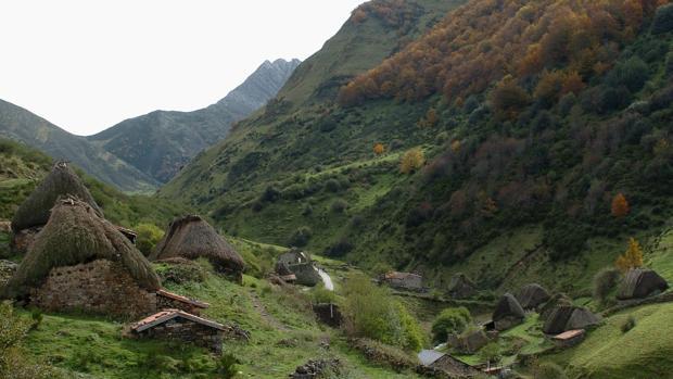 Parque Natural de Somiedo, en el suroccidente de Asturias,