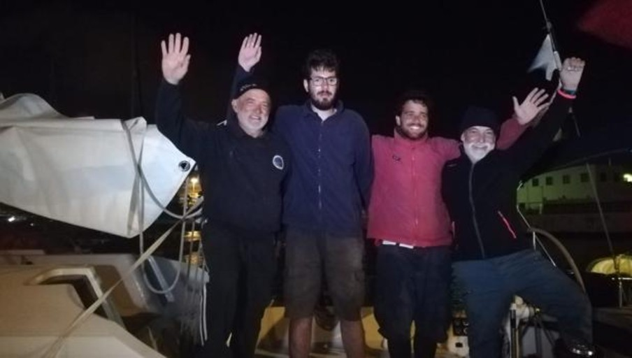 Oceanía Dos y Swing son los primeros en llegar a Las Palmas de Gran Canaria