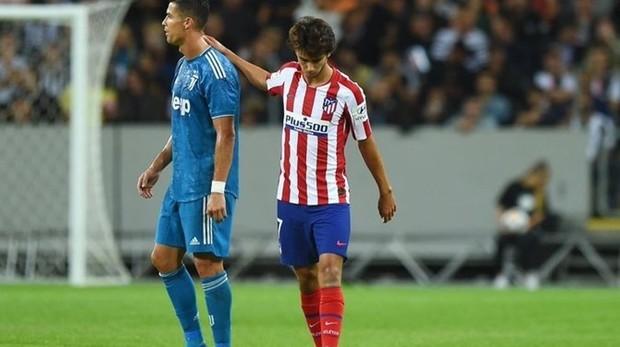 Cristiano Ronaldo y Joao Félix coincidieron ya esta pretemporada
