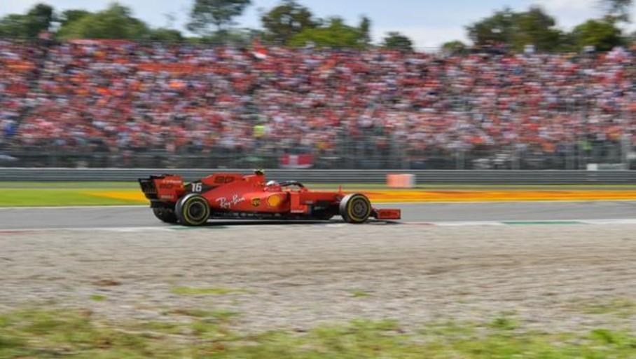 Pole para Leclerc en una clasificación de chiste