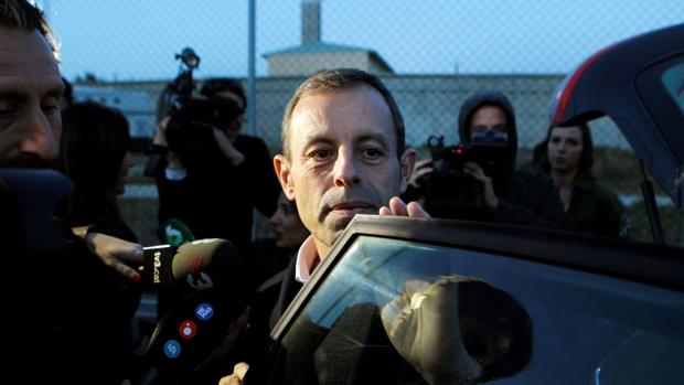 Sandro Rosell, el día que salió de la cárcel de Soto del Real tras 21 meses en prisión preventiva