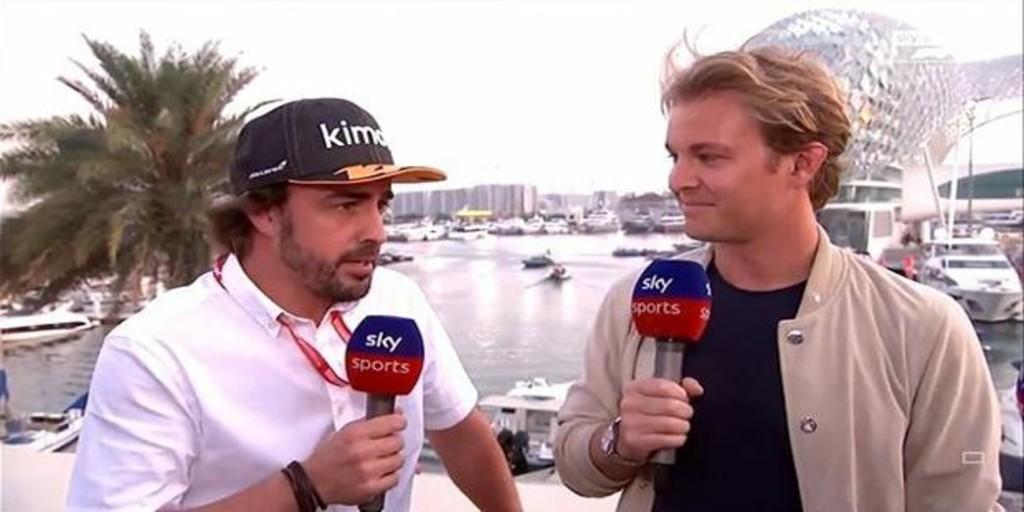 Alonso es la estrella en Abu Dabi